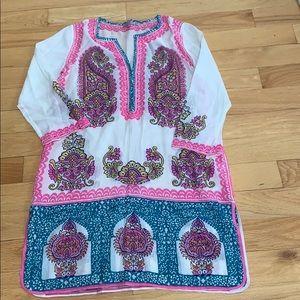 EUC Calypso St. Barth Tunic/Dress, Sz S
